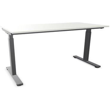 Ergodata MY'DESK Schreibtisch, Rasterhöhenverstellung
